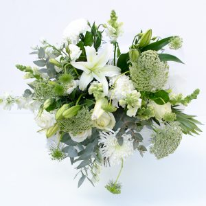 White and cream bouquet