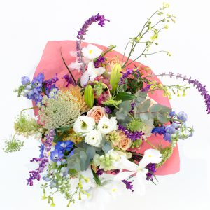 Pastel shades bouquet