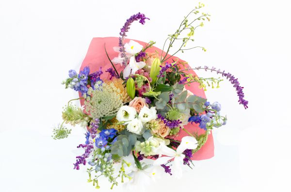Pastel shades bouquet